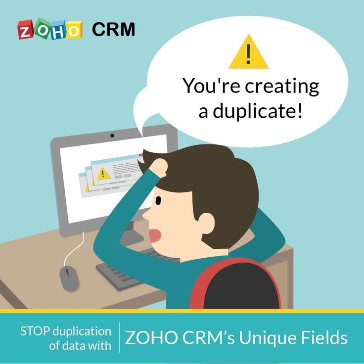 "Don't want to appear eager or needy to your prospects & customers by sending them the same email over and over again? With the help of #ZohoCRM, Unique Fields can help you mark particular fields, such as name, phone number, and email, as ""unique"" through the CRM's layout setting option, preventing you from sending the same email more than once."