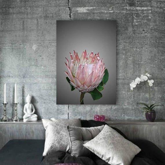 Protea Ice-cream    Flower Photography Print Botanical Print   #photography   #etsy   #flowers    #print  #wallart   #naturephotography   #botanical