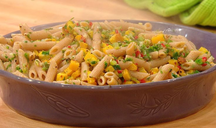 A fresh fall #pasta recipe: Butternut Squash & Parsley ...