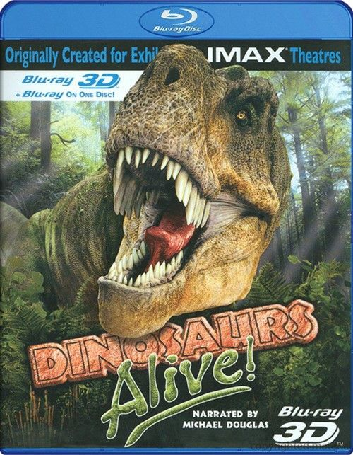 IMAX: Dinosaurs Alive ! (2007) - Blu-ray 3D