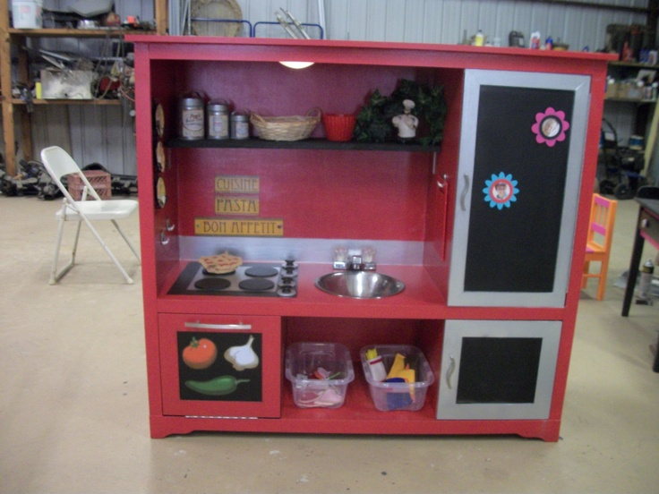 1000 Images About Kids Kitchen On Pinterest Diy Play Kitchen Play Kitchen Sets And Diy Dollhouse