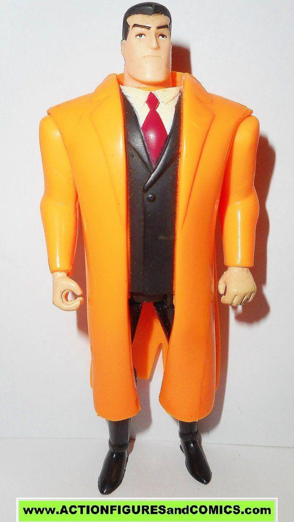 batman animated series BRUCE WAYNE orange dc kenner hasbro action figures