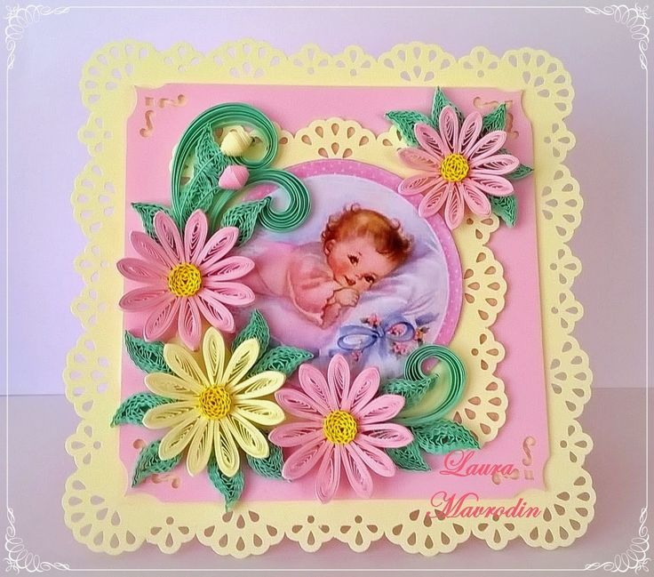 17 Best images about Baby-Quilling-Cards, Etc. on Pinterest Congratulations baby boy, Nursery ...