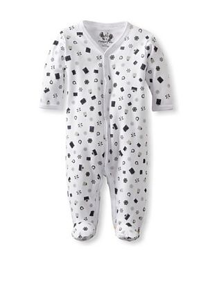 65% OFF Margery Ellen Baby Holiday Footie (Blue Presents)