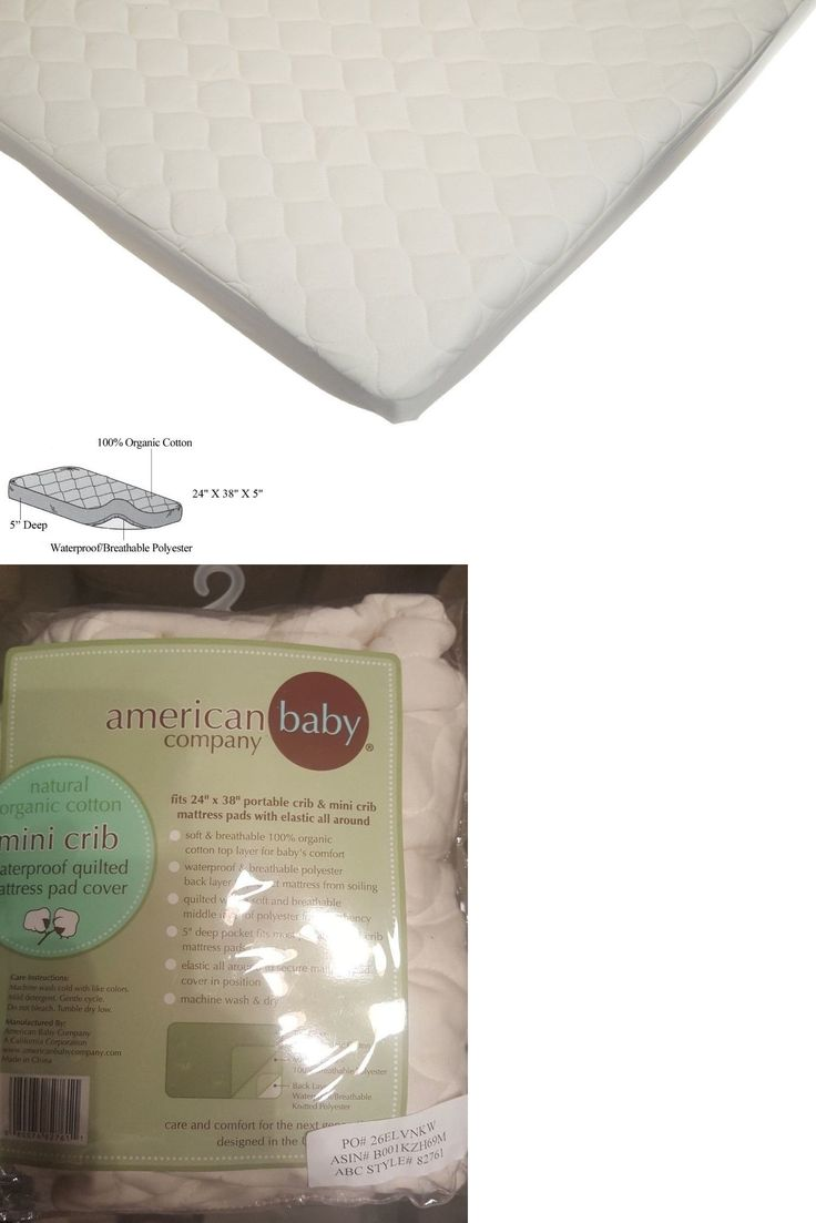 mattress pads and covers 162041: american baby company organic