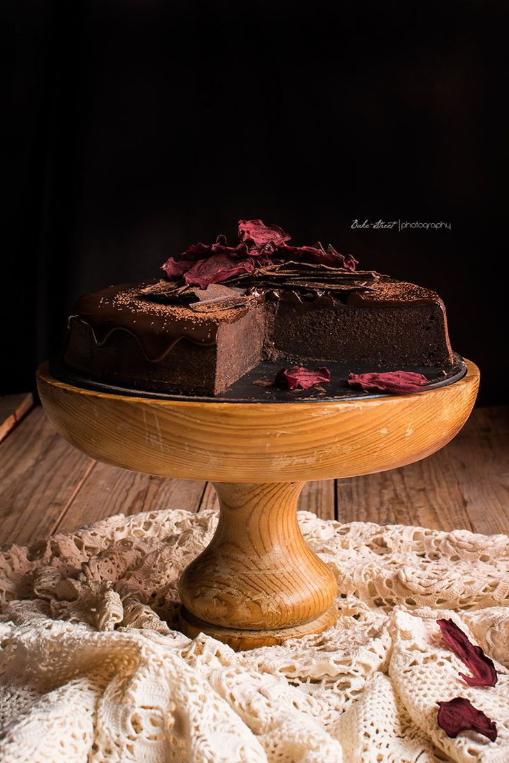 Tarta de chocolate y remolacha sin gluten - Bake-Street.com