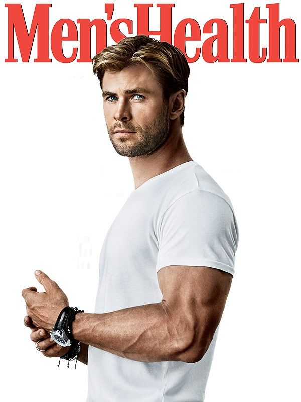 Chris Hemsworth. The blond hair. Check. The muscles. Check. ☺️