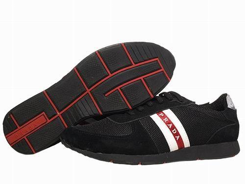 prada outlet Casual Men Sneakers Black () P298 £50.06 Save: 74% off
