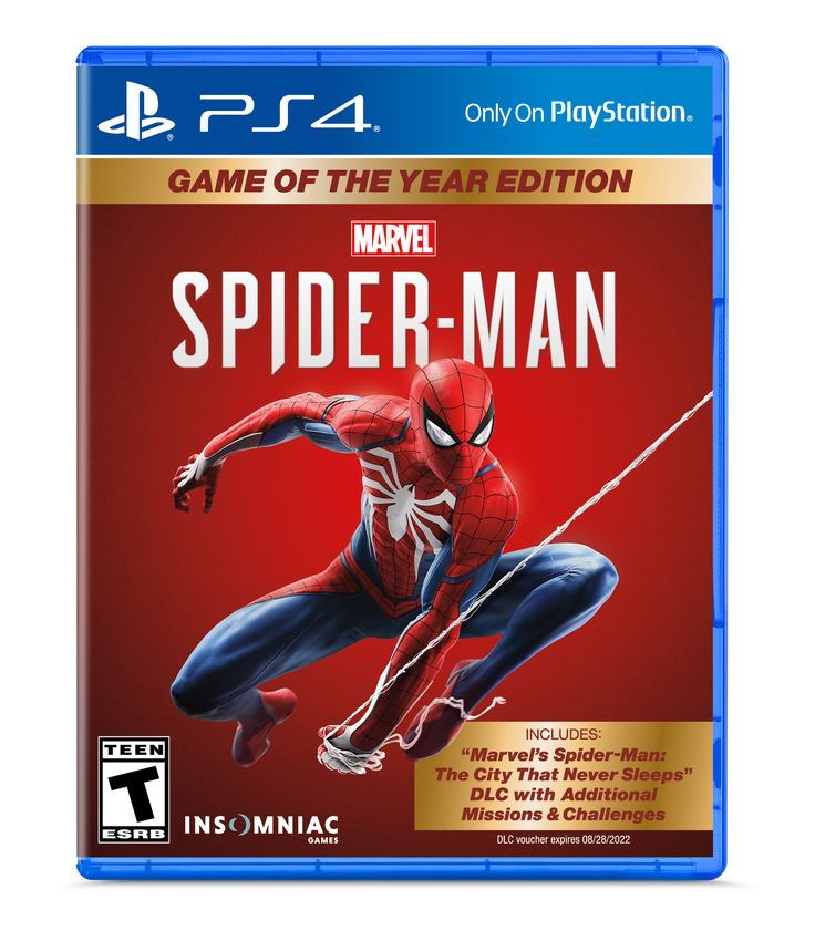 Marvel S Spider Man Game Of The Year Edition Sony Playstation 4 711719529958 Walmart Com Spider Man Playstation 4 Marvel Spiderman Man Games