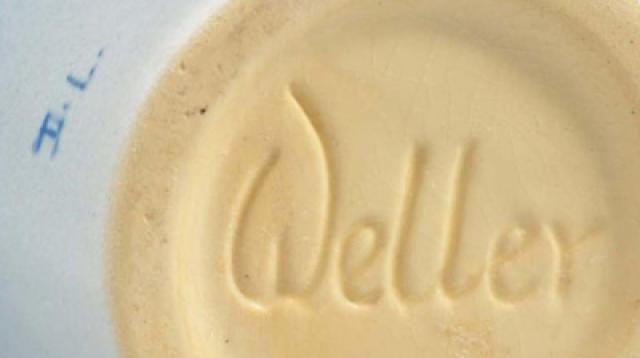 How is Weller Pottery Marked?: Weller Hudson Mark