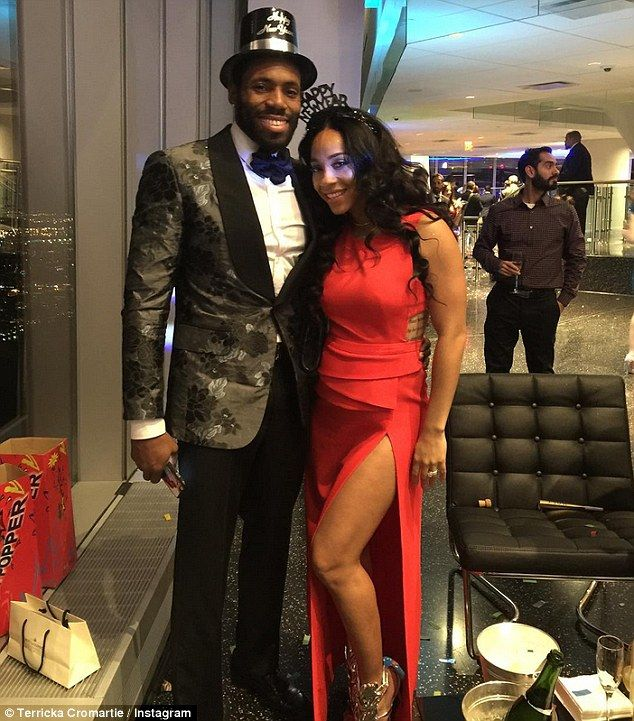 And babies make 12: Antonio Cromartie's wife Terricka is pregnant with twins despite the J...