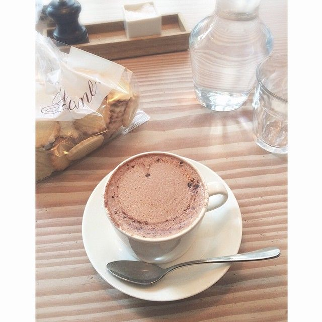 *⑅୨୧*⑅⃝* I love hot chocolate at Poilane!  So glad we have this Parisian bakery in London, too. * *
