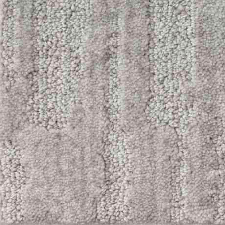 Sculpture Silver Fox Pattern Active Family Carpet
