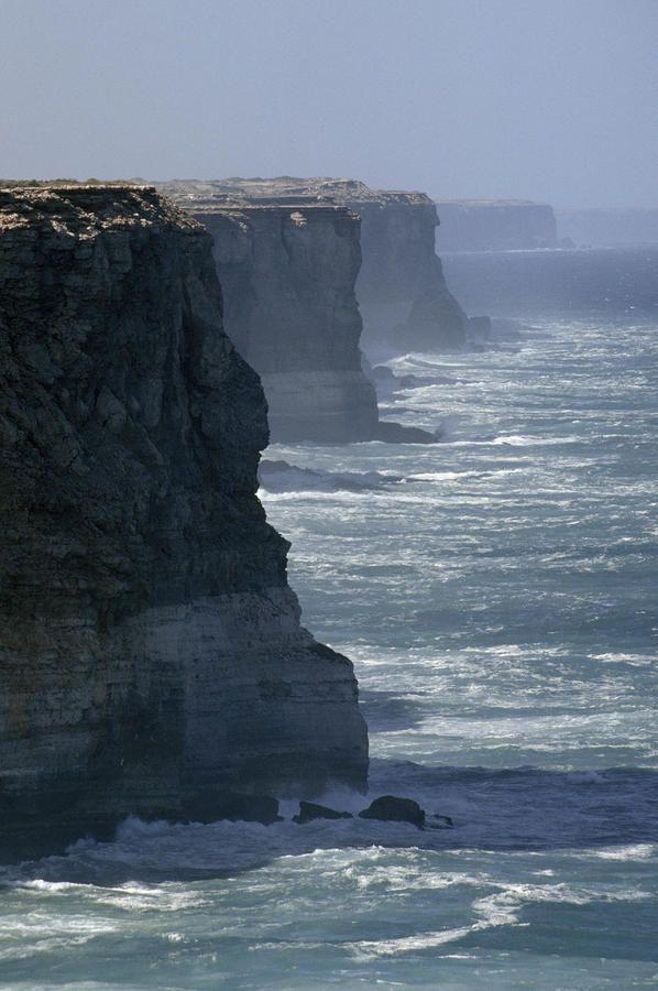 The massive Bunda Cliffs - South Australia