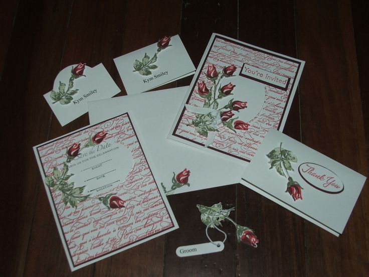 Make Your Own Wedding Cards