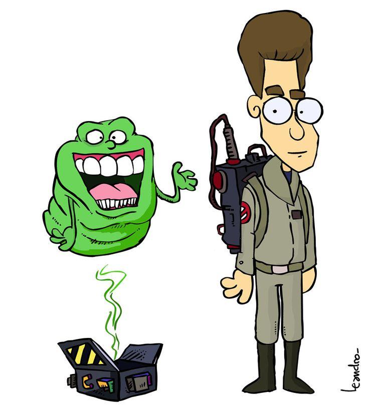 Ghostbusters - Egos y pegajoso