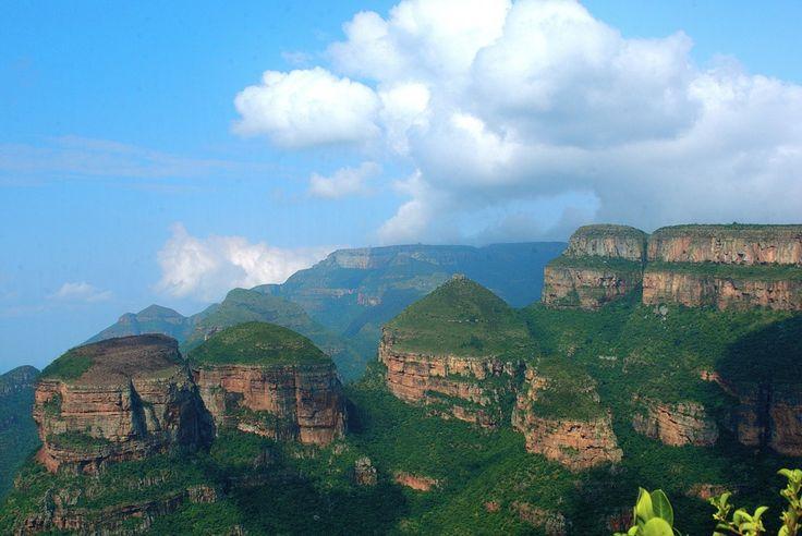 Južná Afrika, Hora, Dračie Vrchy, Na Šírku, Rondavels