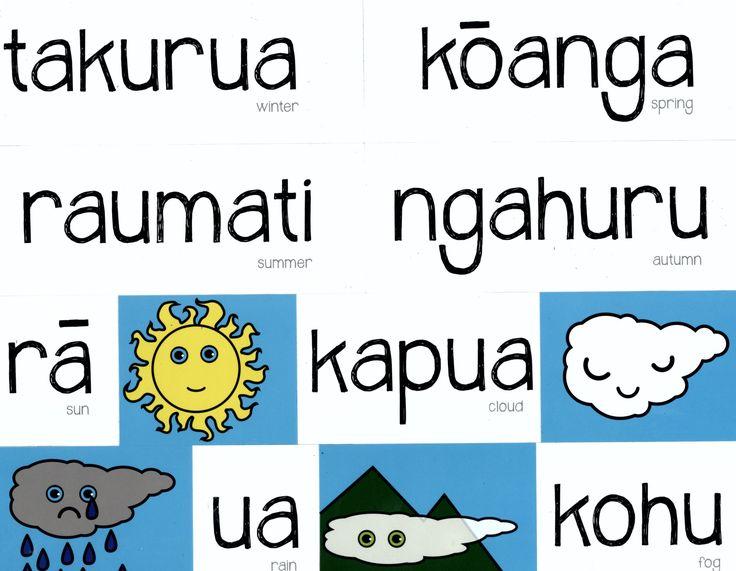 Magnetic Maori Seasons | Teaching Resources