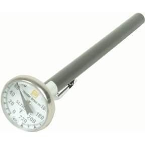Pocket Kitchen Food Meat Thermometer -40-160°F SLTH160C by JapanBargain. $3.99. This handy pocket thermometer is the perfect tool to check temperatures of sauces, soups, and meats.. This handy pocket thermometer is the perfect tool to check temperatures of sauces, soups, and meats. It is not designed to be left in the over for the duration of cooking time; rather it can be inserted briefly into oven baked items, such as roasts, in order to check if the center has cooked proper...