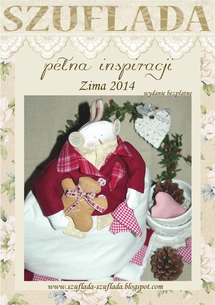 Gazetka zima2014m  Szuflada Pełna Inspiracji magazyn http://szuflada-szuflada.blogspot.com/