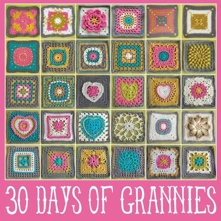 this is the best blog for granny square instructions!