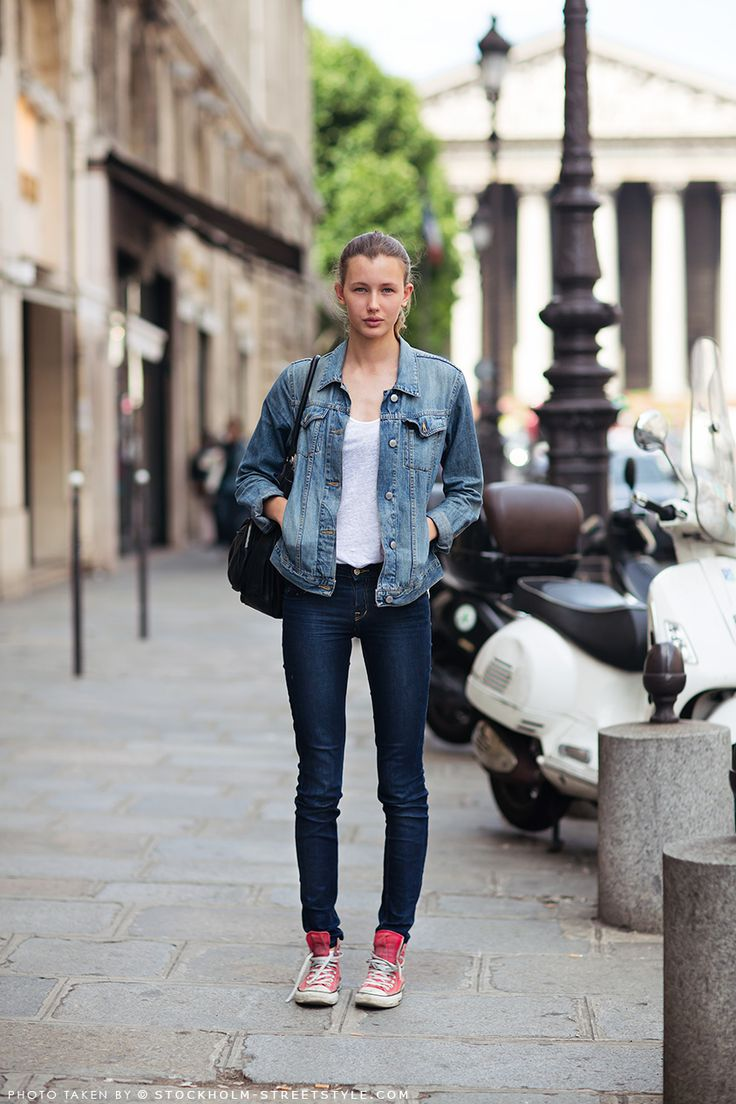 17 Best images about Denim Jacket on Pinterest | Summer denim ...