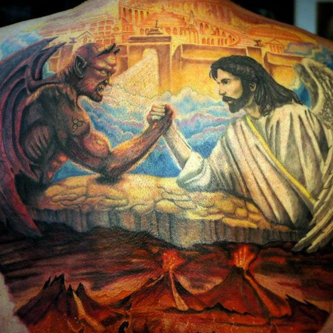 13 best jesus vs satan images on pinterest satan jesus