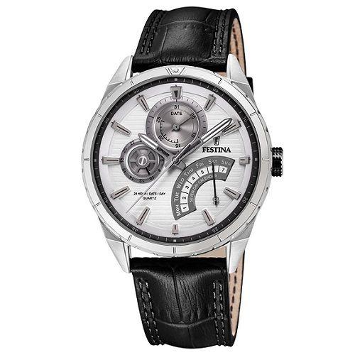 Relógio Festina Masculino Couro Preto << R$ 35400 em 7 vezes >>