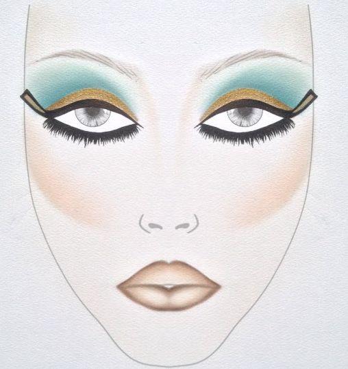 Egyptian Makeup For Kids
