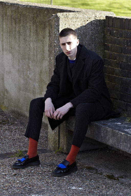 John Skelton LOOK 8 / Photography - Ben Benoliel @ LN-CC / Model - James Taylor