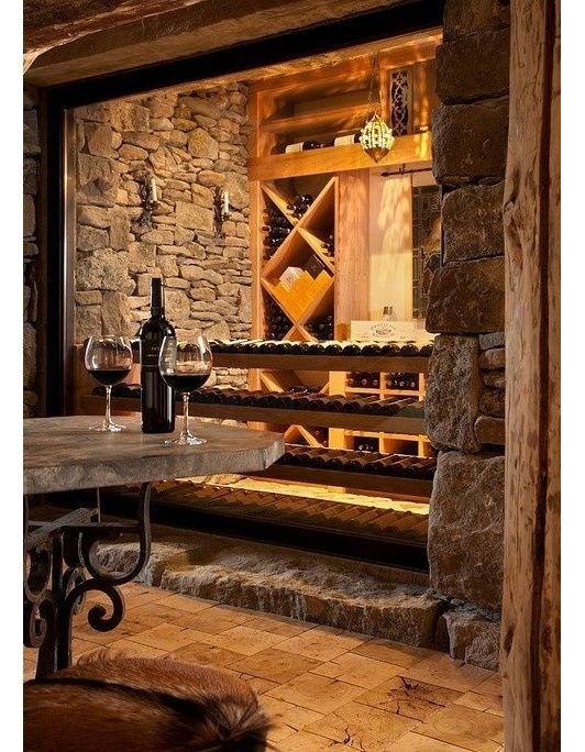 wine cellar home and garden design ideas - Home Wine Cellar Design Ideas