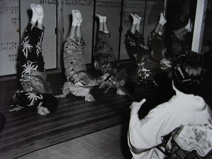 Geisha School, ca. 1951 by Tsuneko Sasamoto
