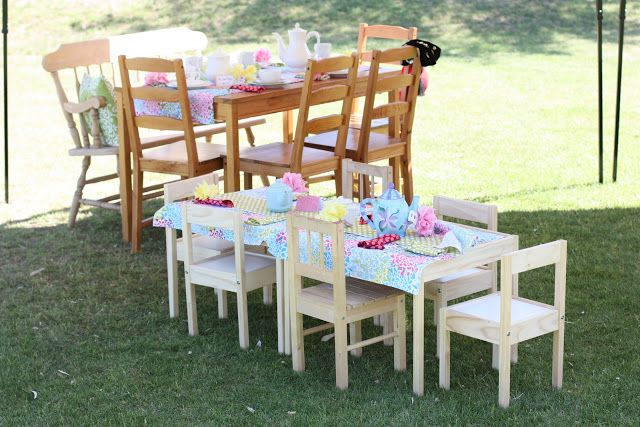 Kara's Party Ideas Mother, Daughter Tea Party 3rd Birthday Brunch | Kara's Party Ideas