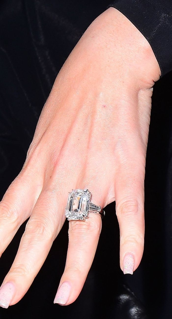 A roundup of the most stunning celebrity engagement rings.