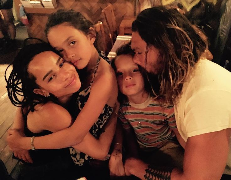Instagram @prideofgypsies • Momoa and his beautiful children