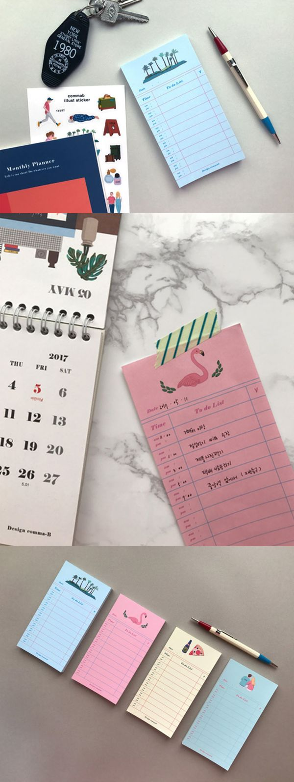 Manage things to do efficiently and never miss anything important with an assist from the Vintage Illustration To-do List Pad! It also has a space for time to make plans by the hours!