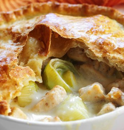 Quorn Chicken Pieces and Leek Pie