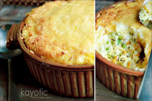 Kiki's Delivery Service - Fish Pie #2 (with fish, peas, and carrots)