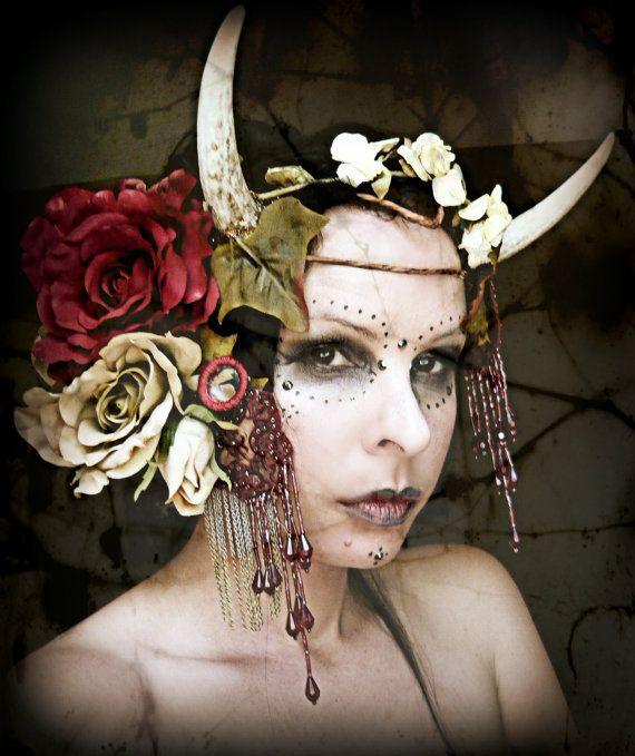 I like this headdress concept.