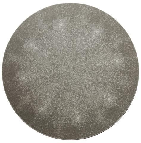 New York Gray Shagreen Placemat, 15in – HOPSON GRACE