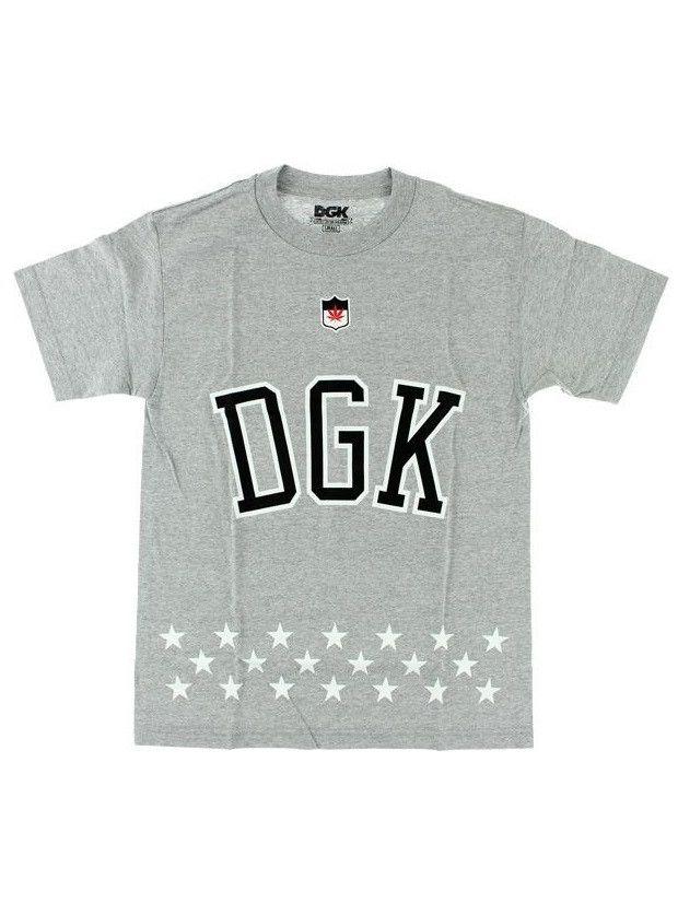 DGK Liberty Tee - Grey Heather – West Brothers #dgk #dirtyghettokids #hustle #hustling #tee #streetwear