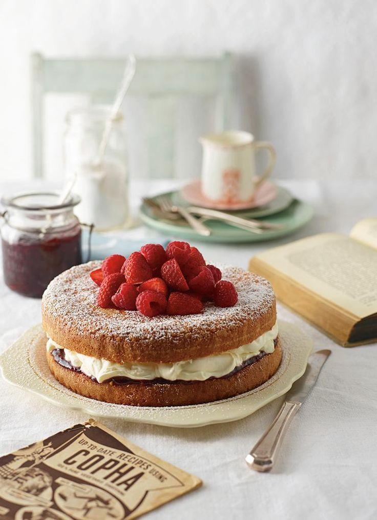 Jam and Cream Victorian Teacake