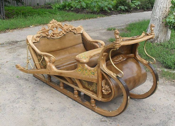 Traditional Russian sleigh