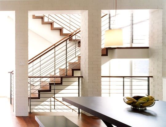 Modern Light Staircase by McInturff Architects, 10 Favorites: Modern Neutral Stairs