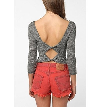 Bow-Back Top