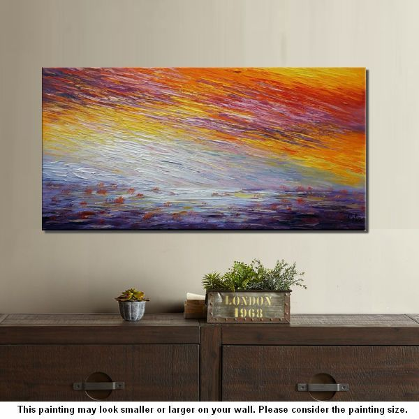 paintings for bedrooms. Canvas Painting  Large Wall Art Landscape 56 best Original for Sale Buy Abstract
