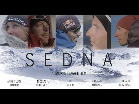 """""""We are all looking for answers.""""  Arc'teryx athlete Thibaud Duchosal joins Anne-Flore Marxer, Richard Amacker, Nicolas Boidevézi, and Phil Meier in the film SEDNA by Eye Of The Storm Productions. The teaser gets us off to a great start..."""