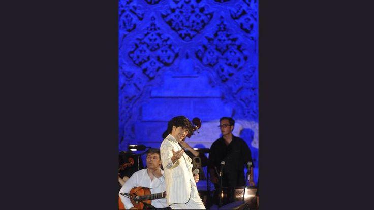Concierto lleno de sorpresas el que ofreció @ManuelLombo en @SevillaAlcazar #Generación27 Foto: #ABC de #Sevilla