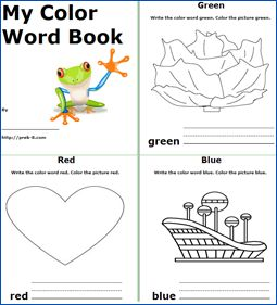 fall i see printable book a short book about fall to print for early - Kids Printable Books