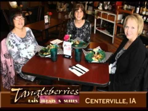 Centerville Iowa's Tangleberries on Our Story's What's Cookin